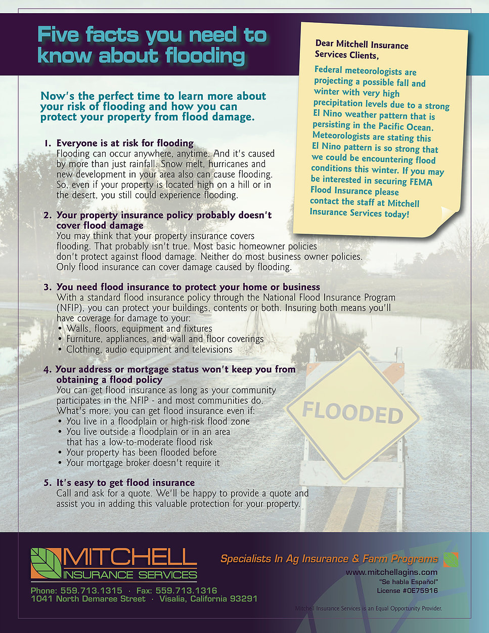 Flood Insurance Quote Flood Insurance